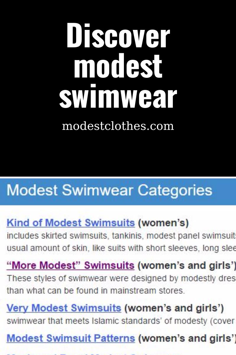 867e47b71e2 Modest swimwear for the entire family