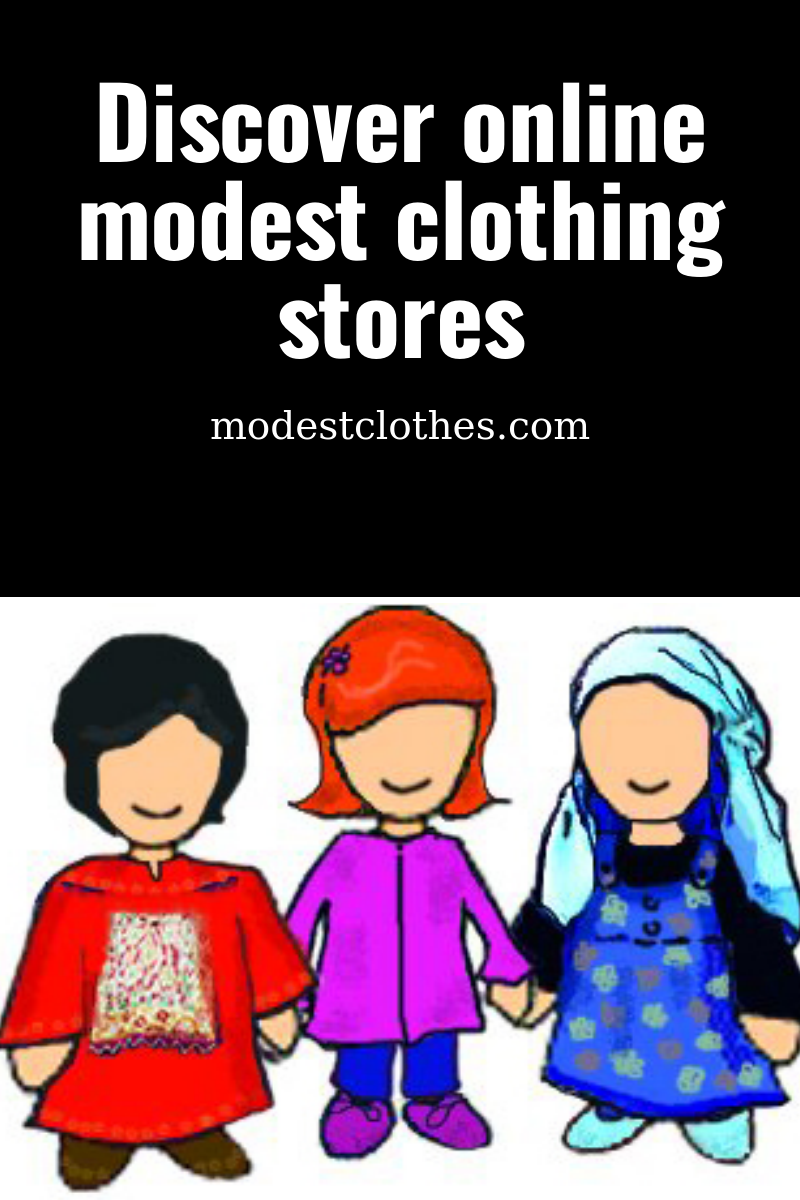 Discover online modest clothing stores.