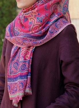 Premium Cotton Printed Hijab